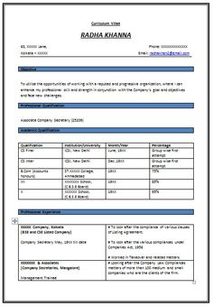 Format For A Good Resume Sasolo Annafora Co