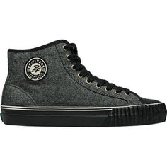 PF Flyers Center Hi Black Wool