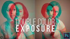 Double Color Exposure — Photoshop Tutorial