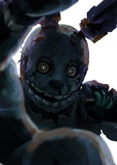 This Springtrap fan art is too cool not to pin.