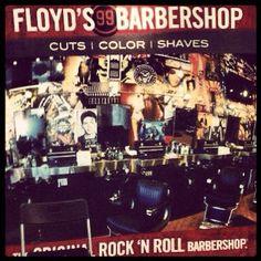 Not your Grandpa's barbershop. #floyds99