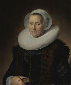 Frans Hals - Portret van Maritge Claesdr. Olycan