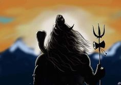 No photo description available. Rudra Shiva, Mahakal Shiva, Shiva Angry, Lord Shiva Hd Images, Lord Shiva Hd Wallpaper, Trishul, Shiva Tattoo, Lord Shiva Painting, Lord Murugan