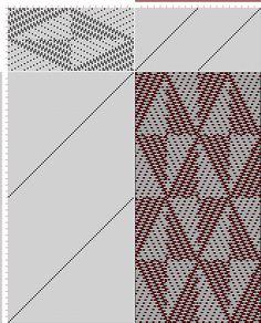 draft image: 40 sur 80, Planche A, No. 2, P. Falcot: Traité Encyclopedique et Méthodique de la Fabrication Des Tissus, 40S, 80T