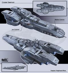 Amazing Spaceships Concept