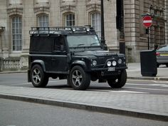 //Land Rover Defender 90 Van by kenjonbro, via Flickr