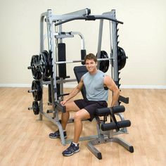 Body-Solid Smith Gym Package - GS348QP4