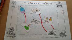 Mi grimorio escolar: EL MAPA DEL TESORO