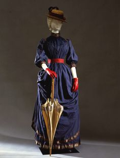 Callot Soeurs walking dress ca. 1884 From the Galleria del...