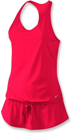 Nike Running Dress.  I would wear this with running capris.