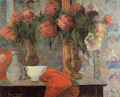 Stilleben mit weißen Schale - Paul Gauguin