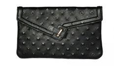 Ela Handbags – Pyramid Leather Studs & Faux Fur Signature Collection