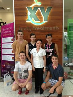 Check out the XY salon on the sunny Gold Coast of Australia!