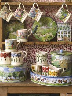Emma Bridgewater A Year in the Country 0.5 Pint Mugs 2014