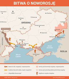 """Possible further directions of Russian and separatist offensive against Ukraine after """"ceasefire"""" 05.09.2014"""