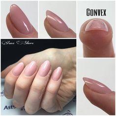#nails #almond #convex #nudenails #nude #cover #astonishingnails