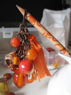 portachiavi arancio