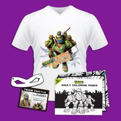 Your TMNT Fan Club Exclusive!