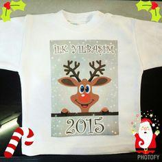 İlk yılbaşı tişörtü :)