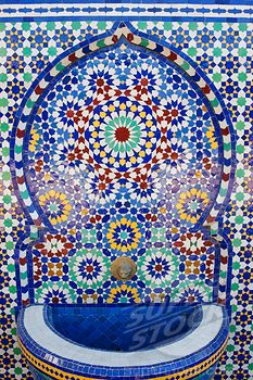 Moroccan pottery/tiles