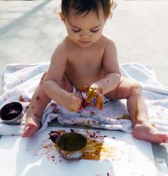 Edible Finger Paint and more