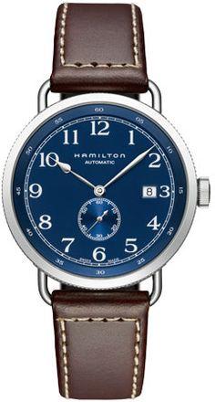 H78455543 - Authorized Hamilton watch dealer - Mens Hamilton Khaki Navy Pioneer, Hamilton watch, Hamilton watches