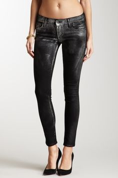 Love these Metallic Skinny Jeans but where oh where could I wear them?