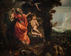 Free Image on Pixabay - Abraham, Isaac, Bible, Sacrifice