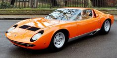 Lamborghini Miura S, 1967, Arancio Orange, in 1974 converted to full SV specifications by the factory.