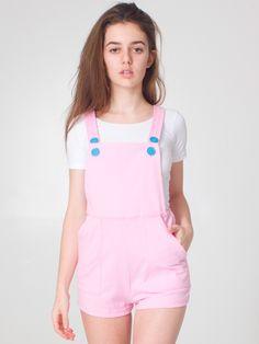 Thick-Knit Jersey High-Waist Cross-Back Short-All   Bottoms   Sale's Women   American Apparel