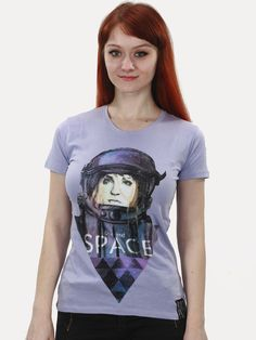I need my space! Crew Neck, Slim, Urban, T Shirts For Women, Space, Sleeves, Cotton, Tops, Fashion