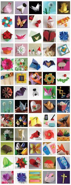 Origami video tutorials from Origami Spirit