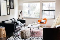 Before & After: Jessica & Christian's California Bohemian Family Space
