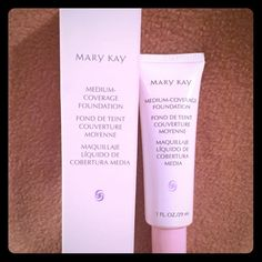 Mary Kay Medium Coverage Foundation Ivory 204 Mary Kay Medium Coverage Foundation Color: Ivory 204.  Let me know if you have any questions.  Brand new.  Looking for other Mary Kay products, ask me it just might not be posted in my closet yet.  Thanks for looking.  Mary Kay Makeup Foundation
