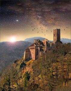 Chateau de Ribeauvillé - Alsace - France
