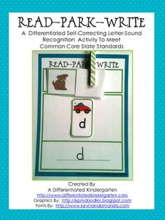 This differentiated, self-correcting letter sound recognition activity is tiered to meet the various readiness levels of your learners.  It also al...