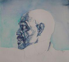 rupert bathurst Follow barry. blue  watercolour on paper     barry. blue   Flickr - Photo Sharing!