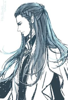 Dior, son of Lúthien and Beren, Thingol's heir, father of Elwing, and grandfather of Eärendil Tolkien Books, Jrr Tolkien, Lotr, Elven Hairstyles, Das Silmarillion, Male Elf, Elven Princess, Character Art, Character Design