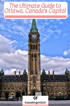 Ottawa, Canada's capital, has been under appreciated for far too long. Nowadays, it's a burgeoning city that's simply oozing with culture. If you haven't been, you need to change that soon! #Ottawa #Canada #Ottawa