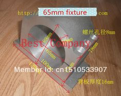 65 mm chuck Spindle fixture spindle mounts 65mm
