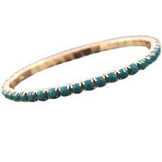 Trendy elastische armband in goudkleur (nikkelvrij) met SS20 puntstenen van acryl. Super leuk in combinatie met andere armbandjes uit de webshop. http://bylieske.biedmeer.nl/bracelet-gold-small-diverse-kleuren