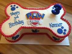 Paw Patrol cake by another Slice of cake