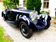 1929 Mercedes-Benz Typ S  - Mercedes 710 SS – Sports body