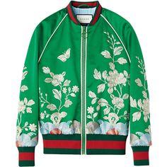 ジャケット ❤ liked on Polyvore featuring outerwear, jackets, coats and gucci