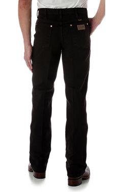 Wrangler® Cowboy Cut™ Black Chocolate Slim Fit Jeans