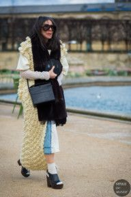 STYLE DU MONDE / Paris Fashion Week FW 2016 Street Style: Veronique Tristram  // #Fashion, #FashionBlog, #FashionBlogger, #Ootd, #OutfitOfTheDay, #StreetStyle, #Style