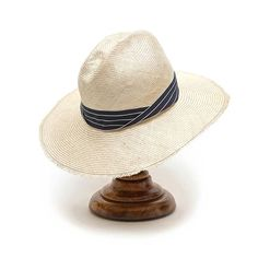 The Striped Bahamas Hat by Axel Mano. Handmade in Australia.