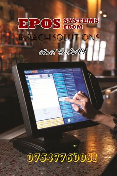 Unleash the power of faster checkouts with most advanced EPOS systems powered by #INPACH_SOLUTIONS
