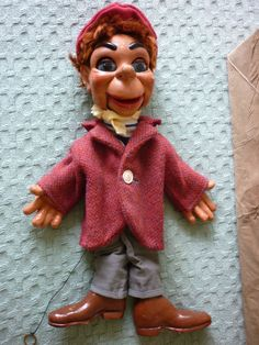 Vintage Pelham Puppet Carrot Top from Film Lili 1950's in Toys & Games, Vintage & Classic Toys, Puppets | eBay