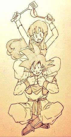 Chichi & Goku